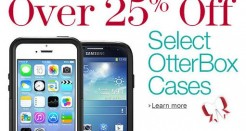 25% Off  On Selected Otterbox Cases